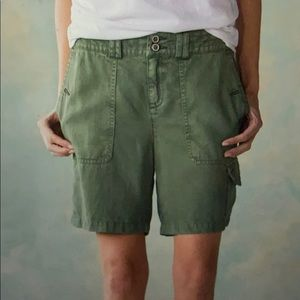 Sundance Army Green Shoreline Trail Cargo Shorts